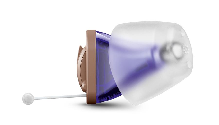 Внутриушной слуховой аппарат без слепка уха